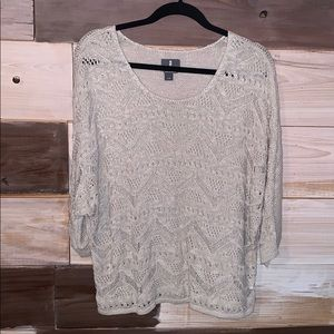 Soft batwing top